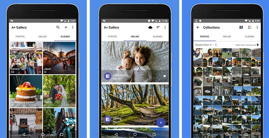 A + Gallery - The best gallery applications for Android