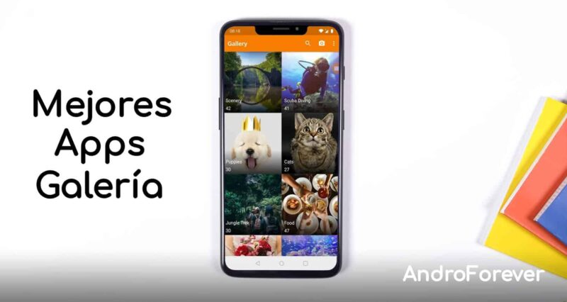 mejores apps de galería para android