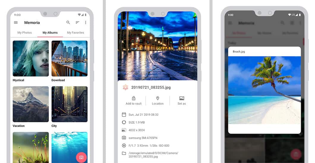 Memory - The best gallery apps for Android