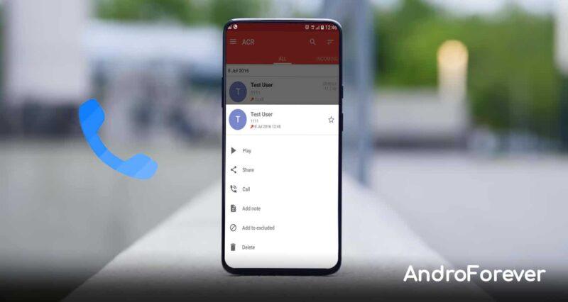 mejores aplicaciones para grabar llamadas en android