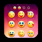 Emoji lock screen