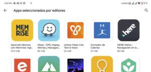aplicaciones recomendadas por editores, trucos google play store