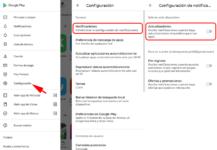 deshabilitar las notificaciones de actualización, trucos google play store