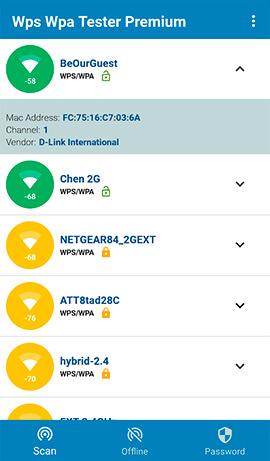 WPS WPA Tester: aplicaciones android hackear wifi