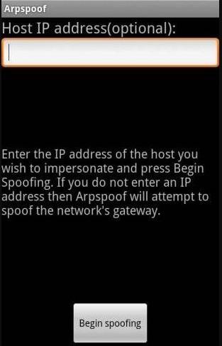 Arpspoof: aplicaciones android hackear wifi