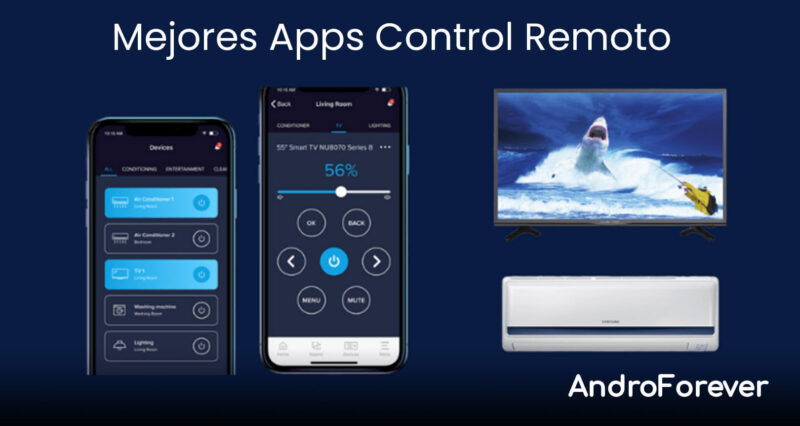aplicaciones de control remoto para tv