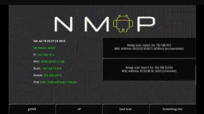 Nmap: aplicaciones android hackear wifi