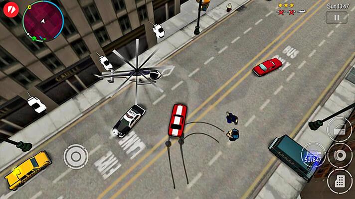 Grand Theft Auto Chinatown Wars en dispositivos móviles