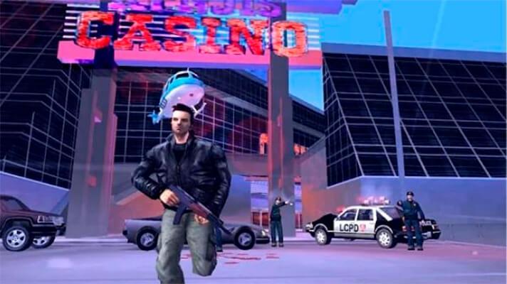 Grand Theft Auto III en el móvil