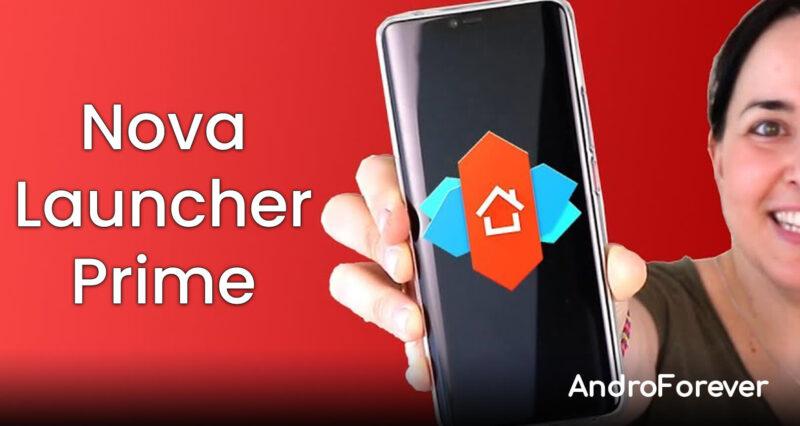 descargar nova launcher prime para android