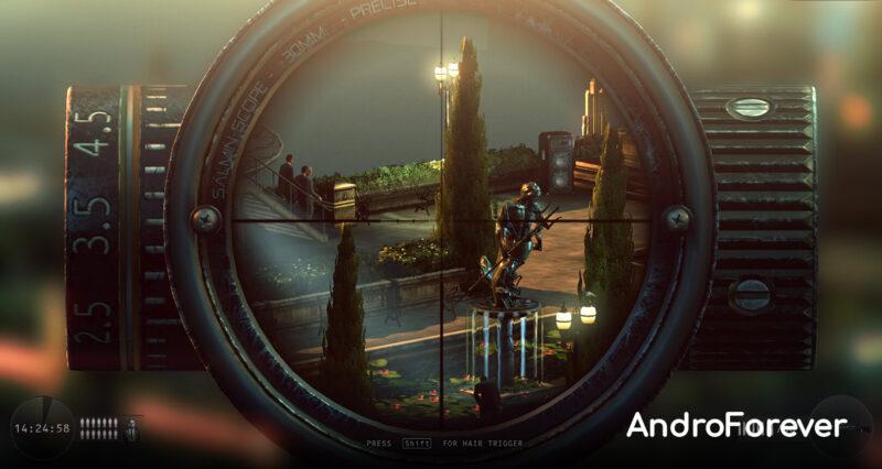 hitman sniper para android