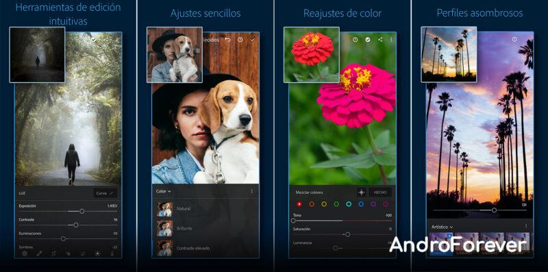 adobe lightroom mod premium para android