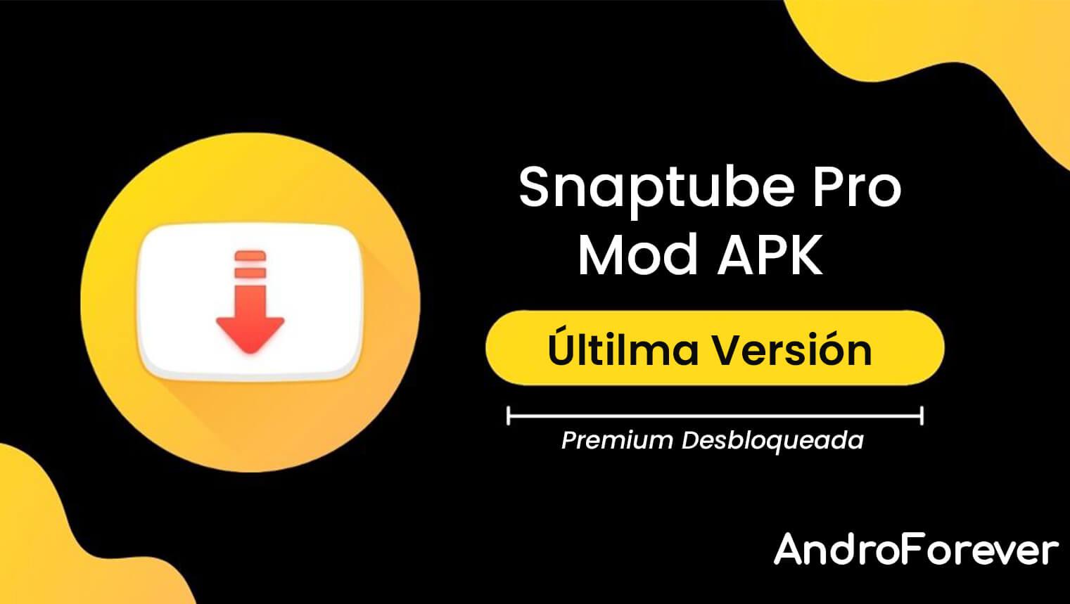 Snaptube APK 5.21.1.5211601 (MOD, Premium Desbloqueado)