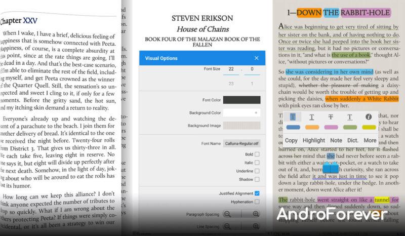 Moon+ Reader Pro para Android