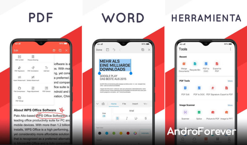 wps office mod premium para android