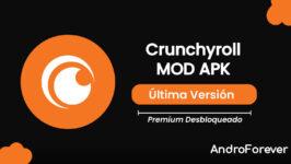 Crunchyroll MOD APK 3.12.2 (Premium Desbloqueado)