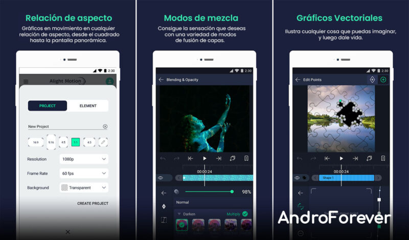 apk alight motion pro para android