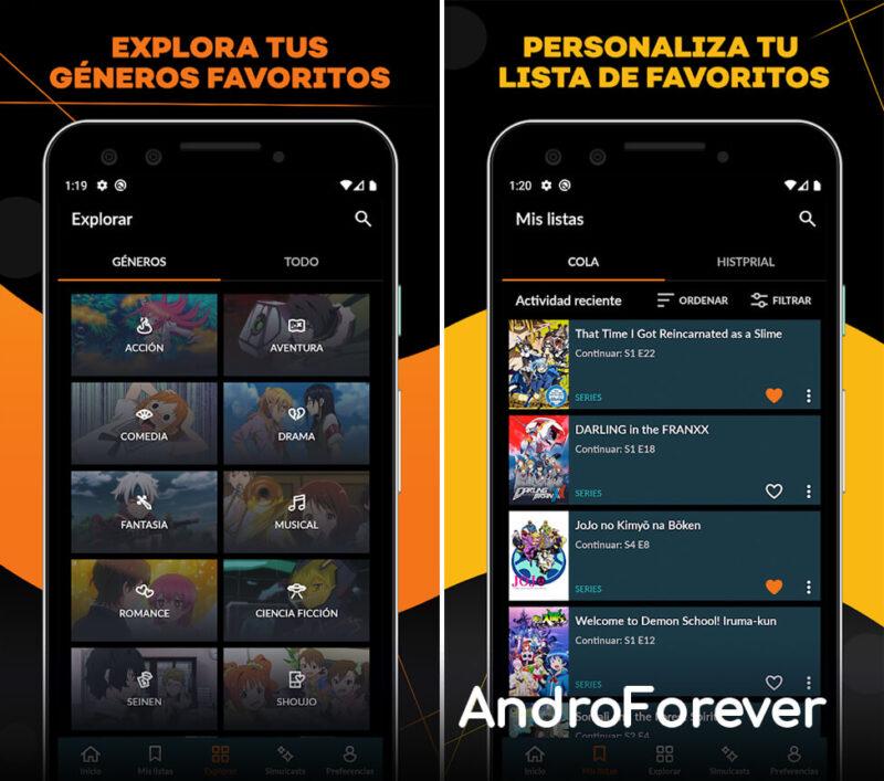 apk crunchyroll para android