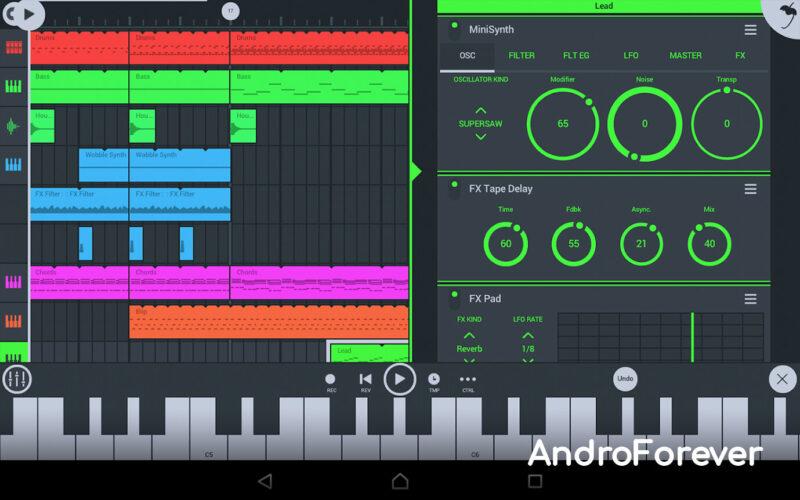 apk fl studio mobile para android