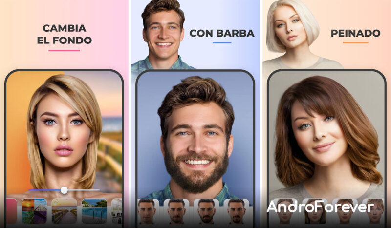 faceapp para android