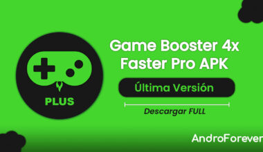 descargar game booster 4x faster pro para android