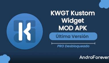 descargar kwgt kustom widget maker para android