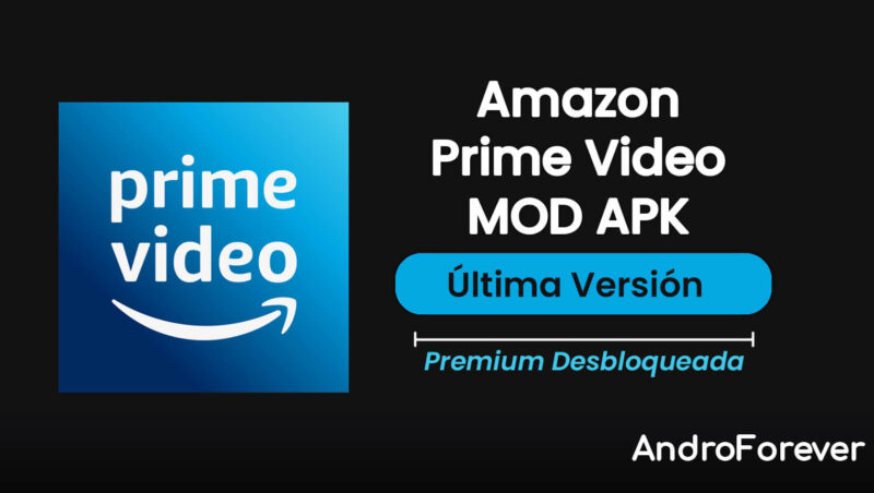 descargar amazon prime video apk mod para android