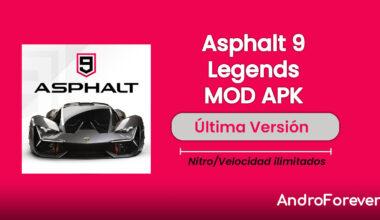 descargar asphalt 9 legends hack mod para android