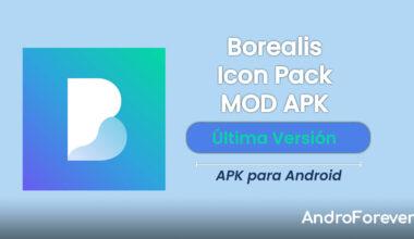 descargar borealis icon pack apk mod para android