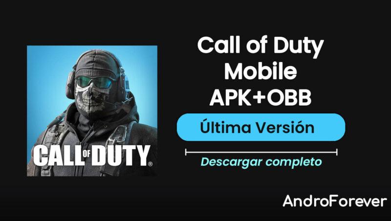 descargar call of duty mobile para android