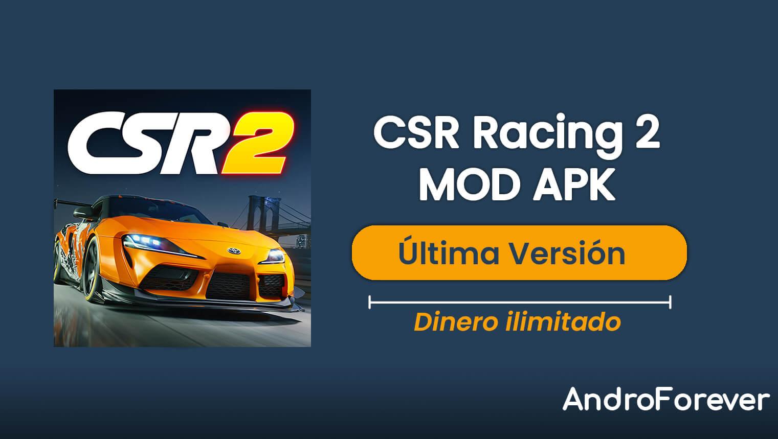 CSR Racing 2 MOD APK 3.2.0 (MOD, Dinero ilimitado)