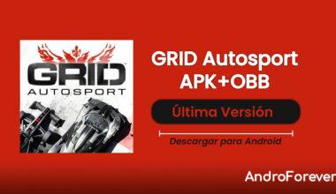 descargar grid autosport apk para android