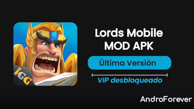 lords mobile apk mod hack para android