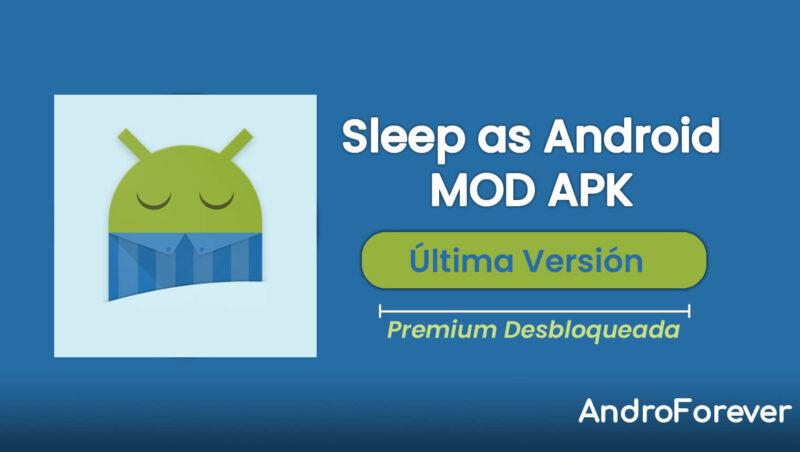 descargar sleep as apk mod para android
