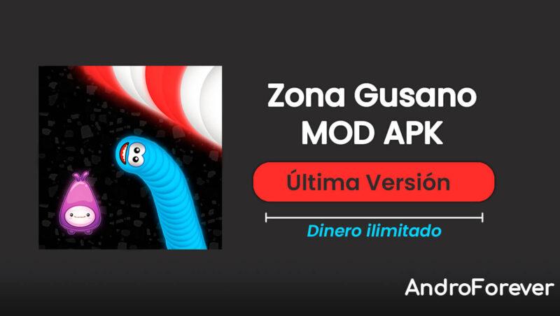 descargar zona gusano apk mod para android