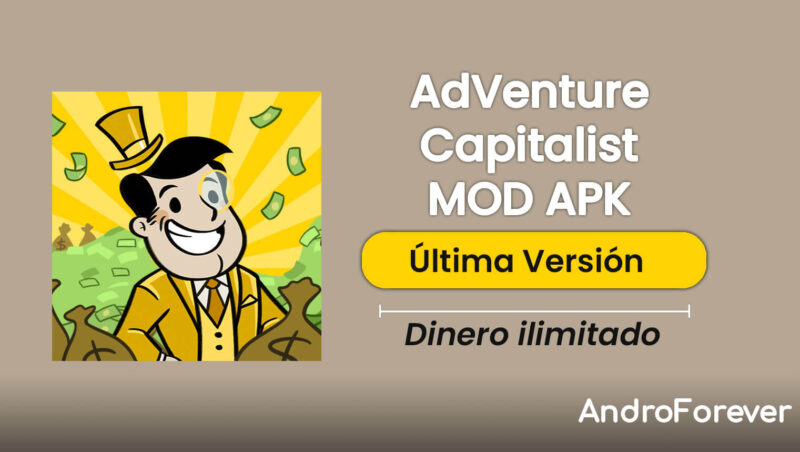adventure capitalist apk mod hack para android