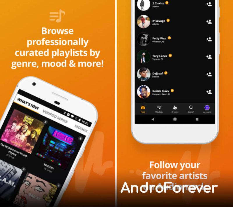 audiomack premium para android mod