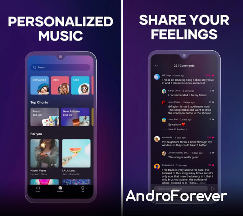 resso premium para android apk mod