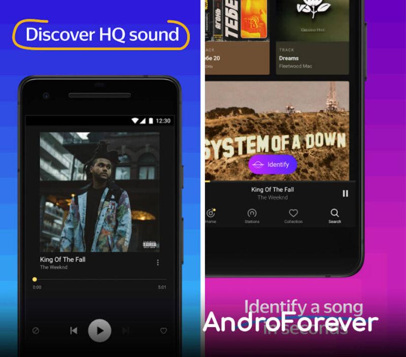yandex music premium para android apk mod