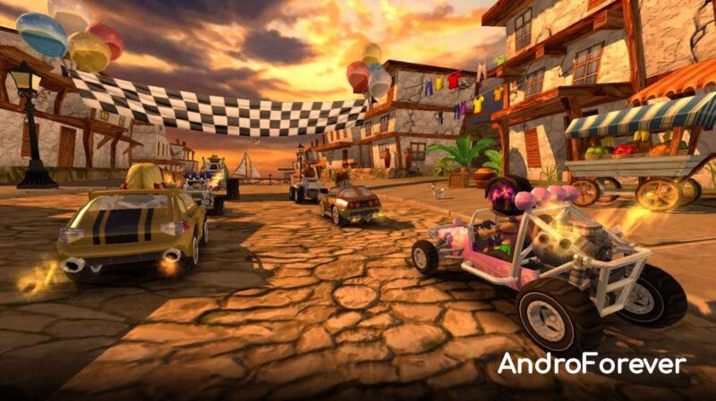 beach buggy racing mod