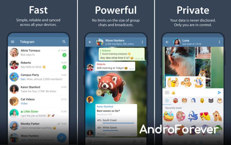 telegram mod premium para android