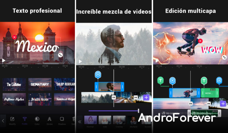 screenshot vivacut pro for android