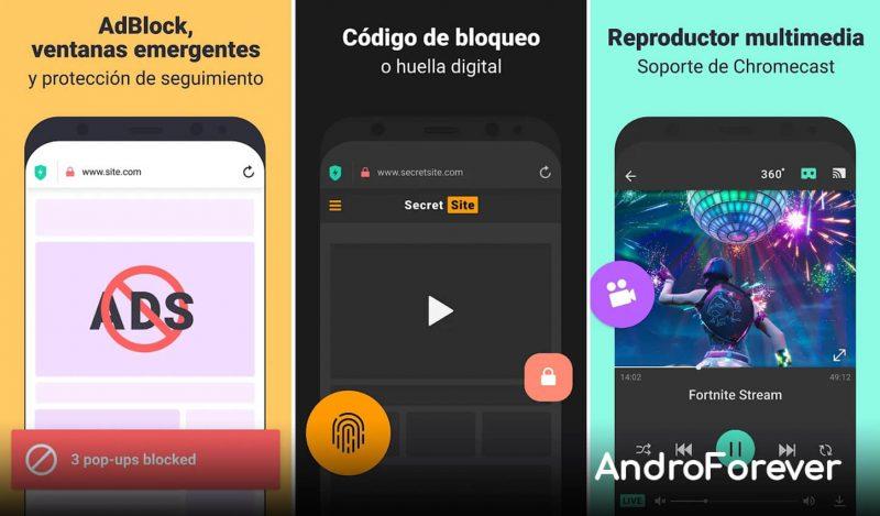 aloha browser mod apk para android