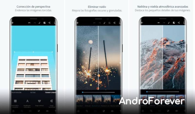 adobe photoshop express para android