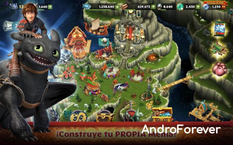 dragons rise of berk mod para android