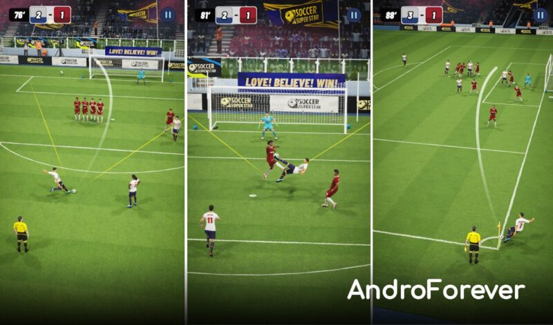 soccer super star mod para android