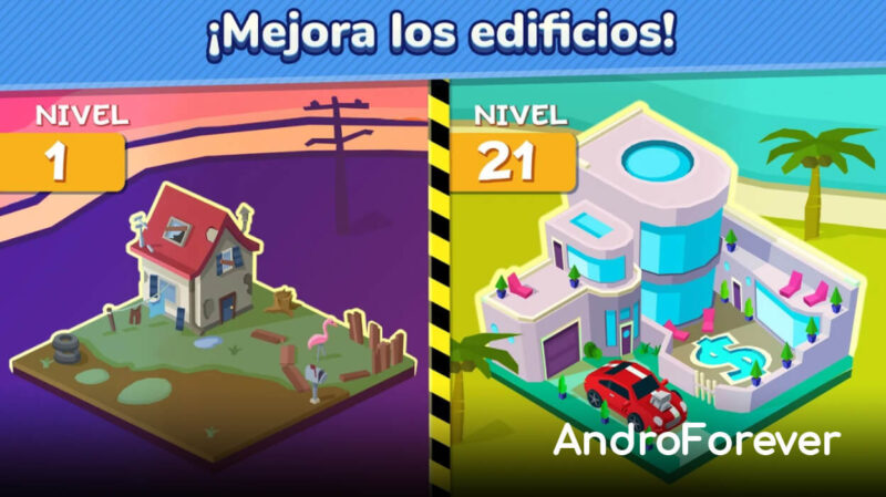 taps to riches mod para android