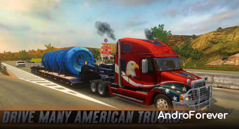 truck simulator usa mod para android