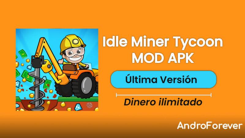 descargar idle miner tycoon mod hack para android