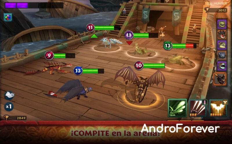 dragons rise of berk apk mod update